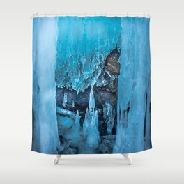 The Ice Palace Shower Curtain
