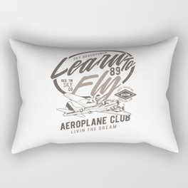 Learn To Fly Rectangular Pillow