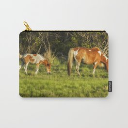 Following Mom - Chincoteague Pinto Foal No. 3 Carry-All Pouch