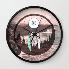 Taking The Plunge Wall Clock