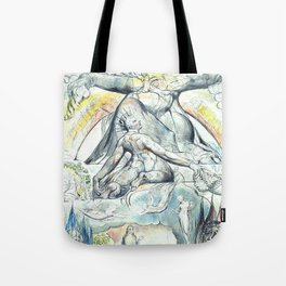 "William Blake ""Illustrations to Dante's Divine Comedy - The Mission of Virgil"" Tote Bag"