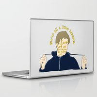 the breakfast club Laptop & iPad Skins featuring The Breakfast Club - Andrew by Swell Dame