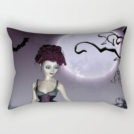 Halloween love Rectangular Pillow