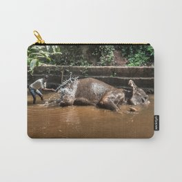 Happy elephant makes me happy Carry-All Pouch