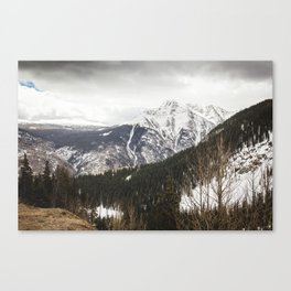 What Lies Ahead Canvas Print
