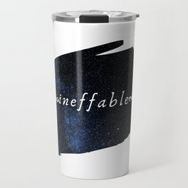 Ineffable — Good Omens Fanart Travel Mug