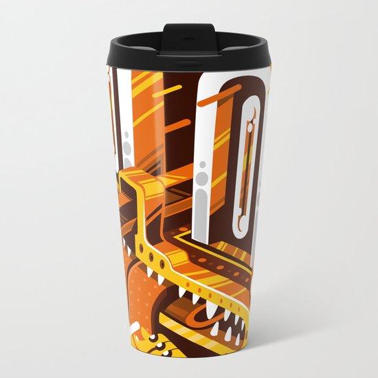 Pencil Nose Metal Travel Mug