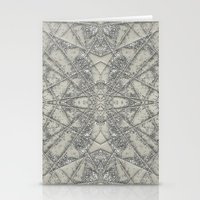 snowflake Stationery Cards featuring Snowflake  by Project M
