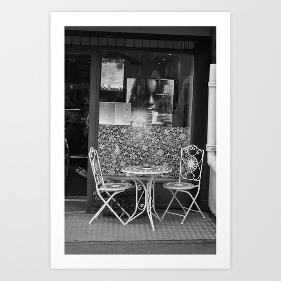 Please Wait To Be Seated Art Print