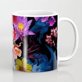 Colorful Fractal Flowers Coffee Mug