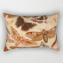 Vintage insects 1 Rectangular Pillow