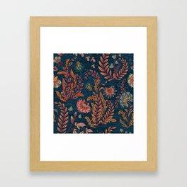 Bandana - Floral Framed Art Print