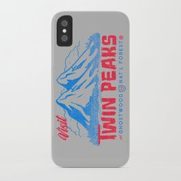 Visit Twin Peaks (hot pink) iPhone Case