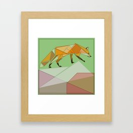 Silent Observer Framed Art Print