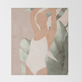 Summer Day II Throw Blanket