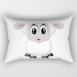 Cute Lamb Sheep Rectangular Pillow