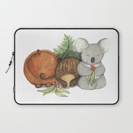 Native Australian Animal Babies – With Koala, Wombat And Echidna Laptop Sleeve