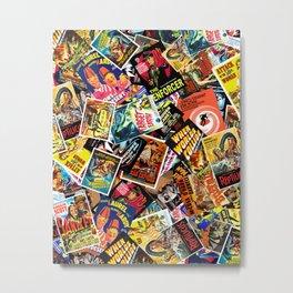 Movie Poster Collage #15 Metal Print