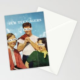 Teen-agers Stationery Cards
