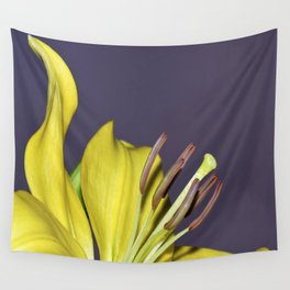 Yellow day Wall Tapestry