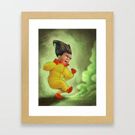 Yellow Boy... Greenish... Framed Art Print