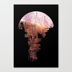 Secret Streets Canvas Print