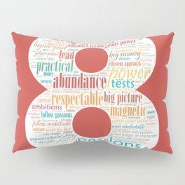 Life Path 8 (color background) Pillow Sham