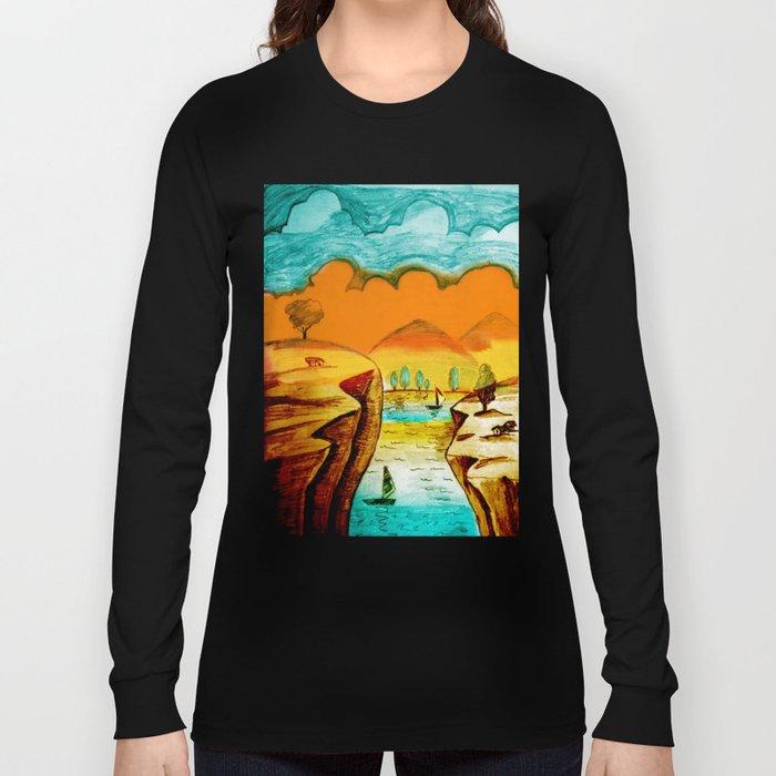 Landscape Art Long Sleeve T-shirt