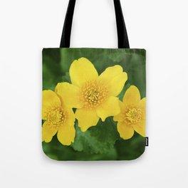 Marsh Marigold Caltha Palustris Tote Bag