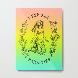 DEEP SEA PARA[DIES] Metal Print