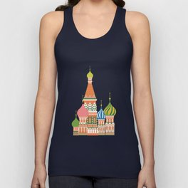 Moscow Unisex Tank Top