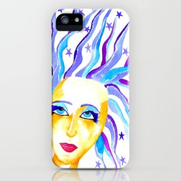 Aurora Goddess of the Dawn and Twilight iPhone Case