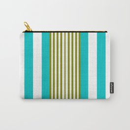 Simply Blue Stripe Carry-All Pouch