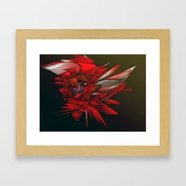 Wild Flower Z Framed Art Print