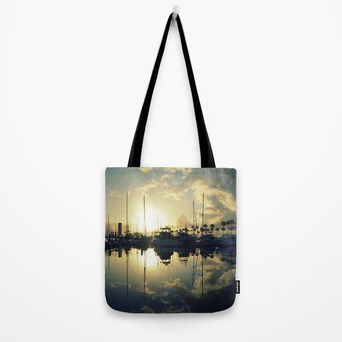 marina morning Tote Bag