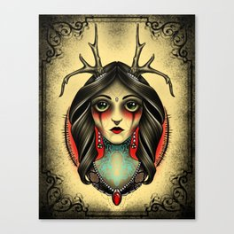 Vena-sin Canvas Print