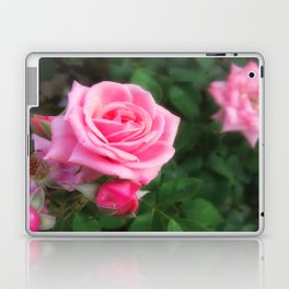 Pink Roses in Anzures 1 Laptop & iPad Skin