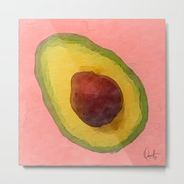 Avocado for Lola Metal Print