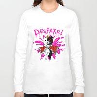 dangan ronpa Long Sleeve T-shirts featuring Monokuma by Alightedsylph
