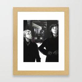 Beautiful, isn't it? Framed Art Print