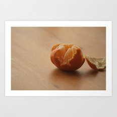 Oranges and...... Art Print