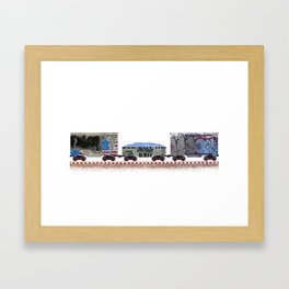 Rusted, Busted - I Framed Art Print