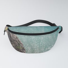 Cliff and Glittering Ocean Water Fanny Pack