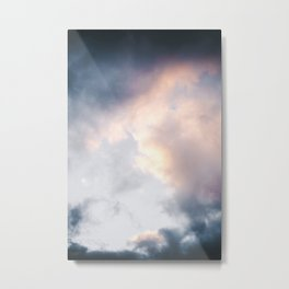 Creamy Clouds Metal Print