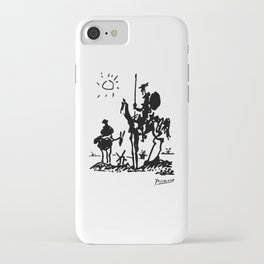 Pablo Picasso Don Quixote 1955 Artwork Shirt, Reproduction iPhone Case