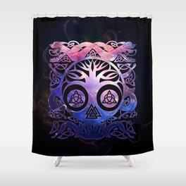Tree of life - Yggdrasil Shower Curtain
