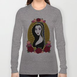 Our Lady Morticia of Addams Long Sleeve T-shirt