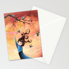 Curiosity Permanent  Stationery Cards