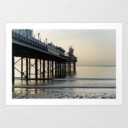 Paignton Pier Art Print