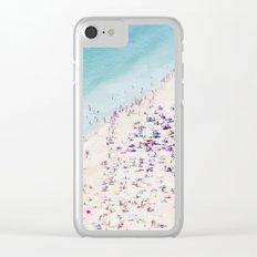 beach - summer love Clear iPhone Case